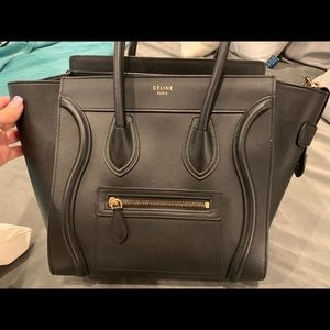 Celine micro luggage tote. 2015 Collection